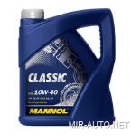 Моторное масло MANNOL 10W-40 CLASSIC (4л.)