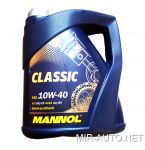 Моторное масло MANNOL 10W-40 CLASSIC (4л.) CL40420