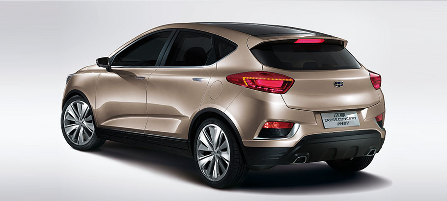 Запчасти Geely Emgrand EC-7/RV / Картинка: Geely Emgrand Cross Concept