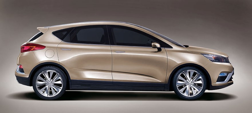 Запчасти Geely Emgrand X7 / Картинка: Geely Emgrand Cross Concept