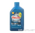 Картинка - Моторное масло 5W-40 Shell Helix HX7 1л